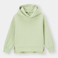 KIDS(男女兼用)ダブルフェイスプルパーカ(長袖)