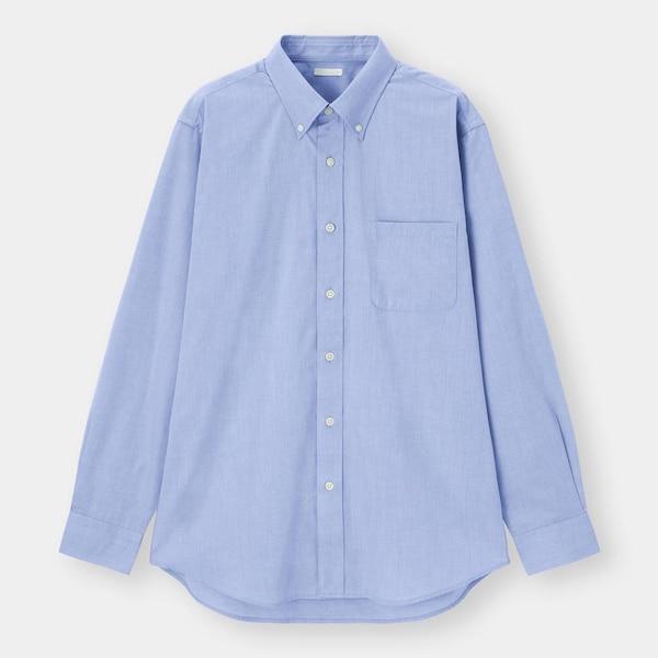 イージーケアシャツ(長袖)SW+X-BLUE