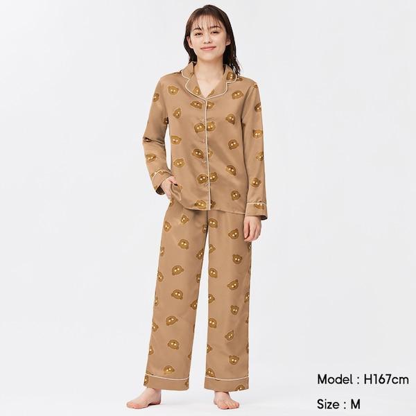 パジャマ(長袖&ロングパンツ)We Want Minions Collection 1+X-BROWN