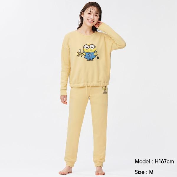 ラウンジセット(長袖&ロングパンツ)We Want Minions Collection +X-YELLOW