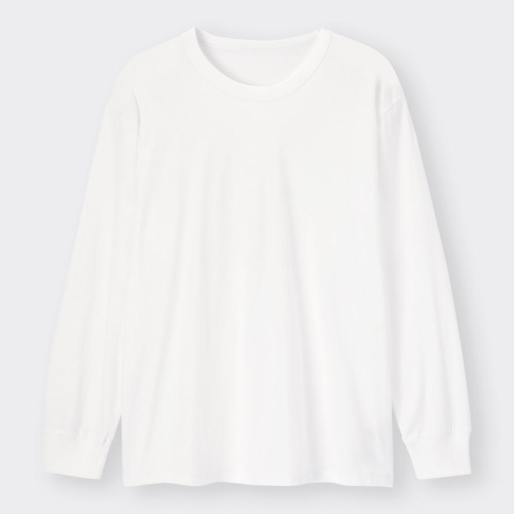 (GU)スタイルオーガニックコットンT(長袖)