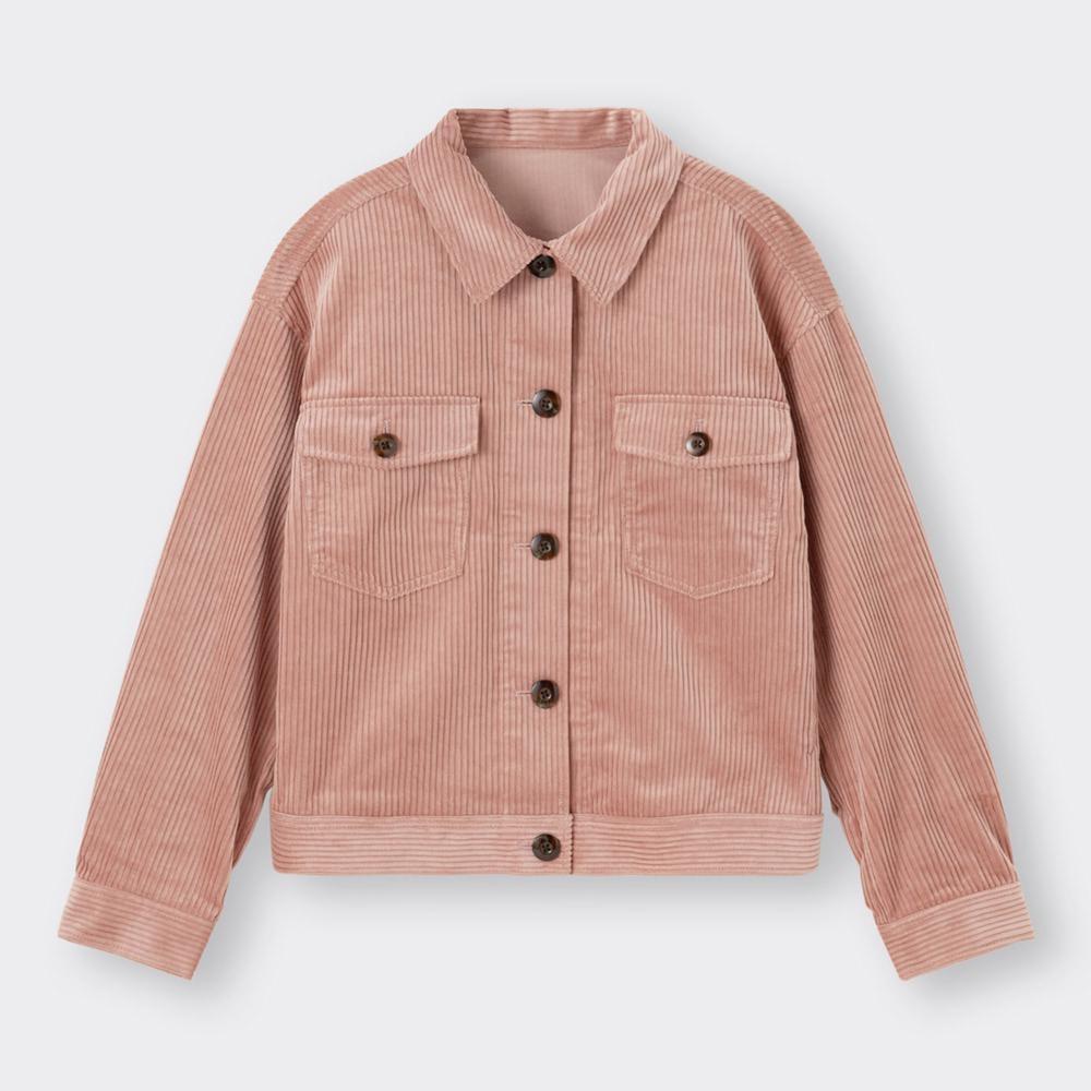 (GU)コーデュロイショートジャケット