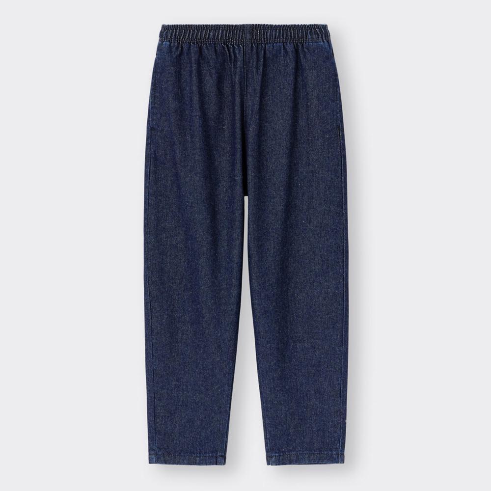 (GU)KIDS(男女兼用)デニムシェフパンツ