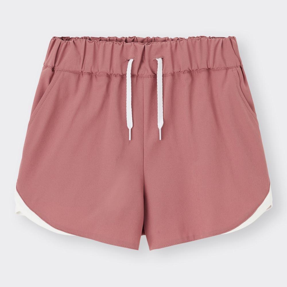 (GU)GIRLSメッシュコンビネーションショートパンツGA+X