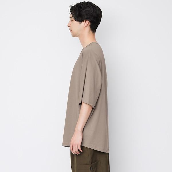 ドルマンスリーブT(5分袖)NT+E