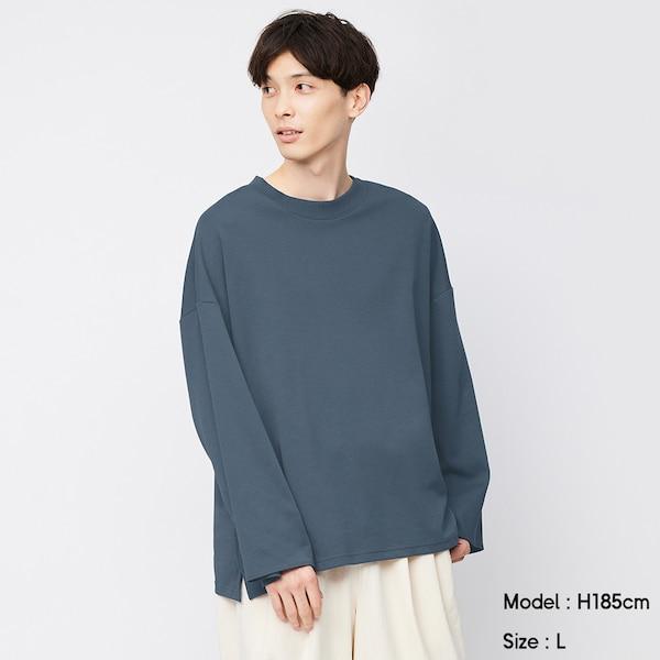 ワイドスリーブT(長袖)NT+E-BLUE