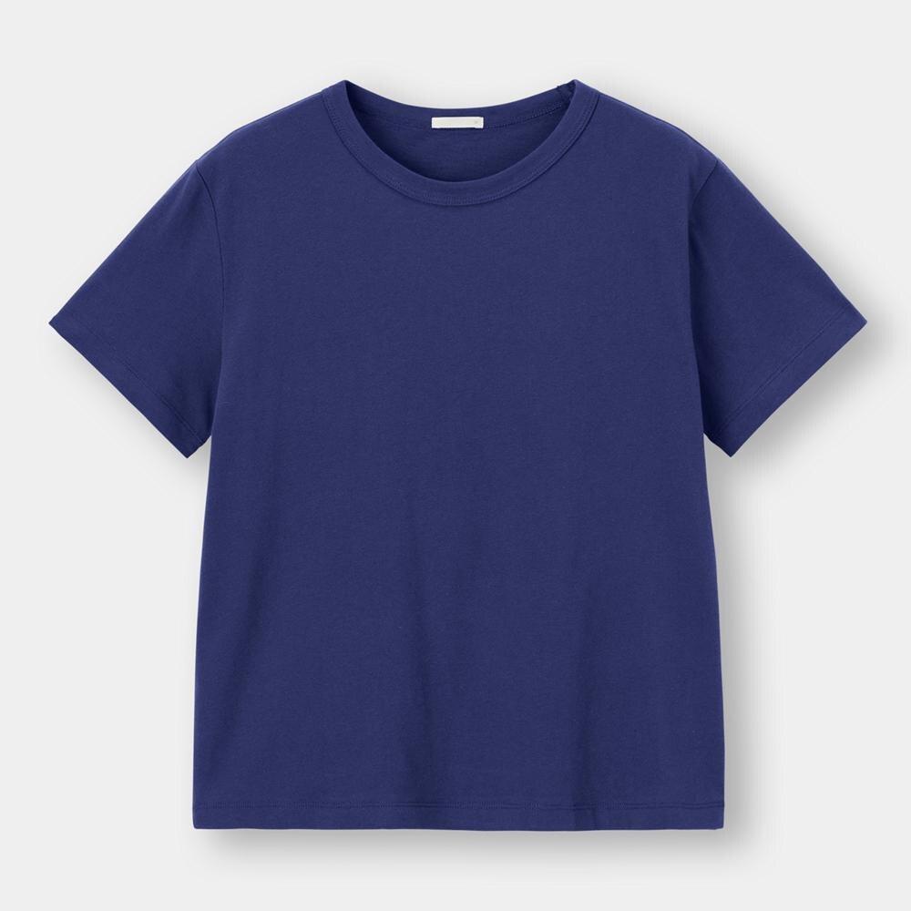 (GU)カラークルーネックT(半袖)