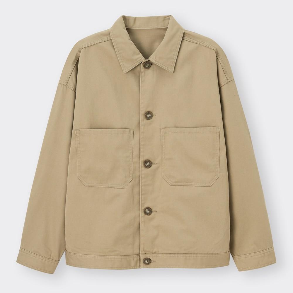 (GU)シェフジャケット(セットアップ可能)
