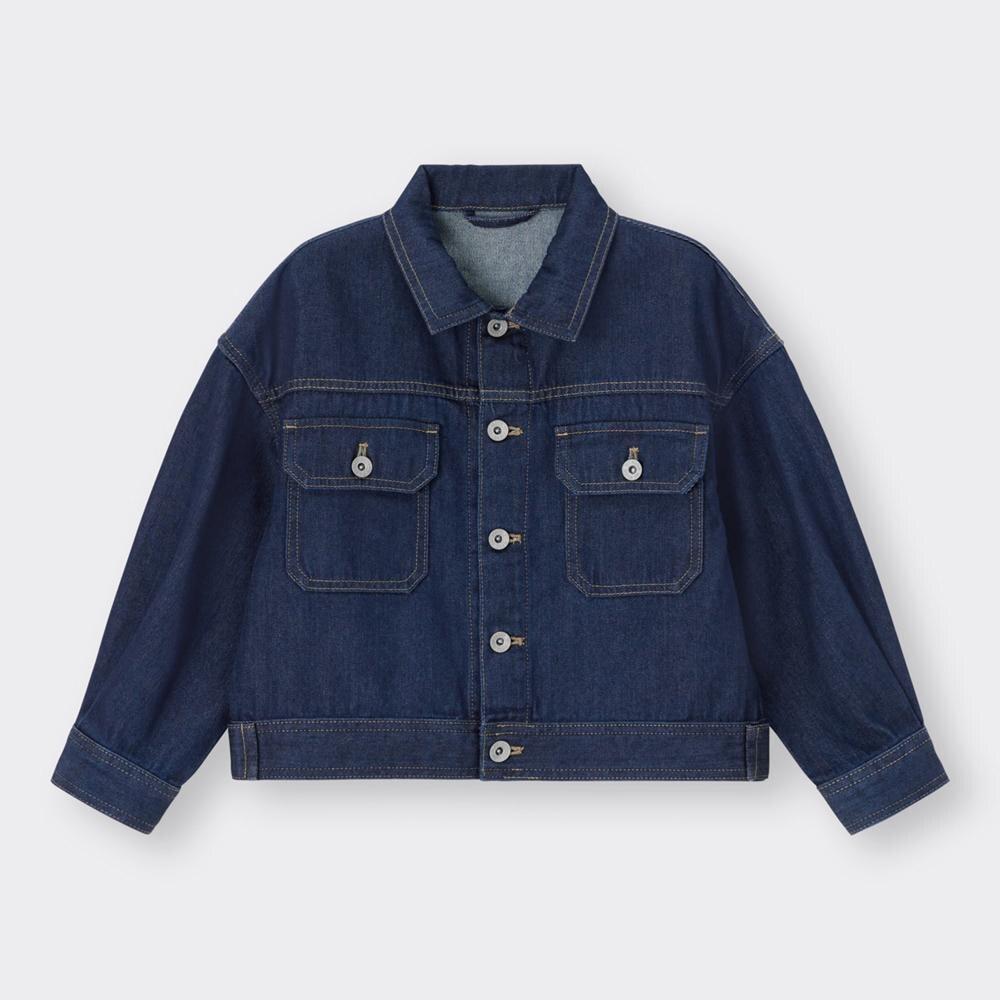 (GU)KIDS(男女兼用)デニムジャケット