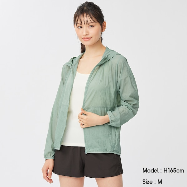 ポケッタブルパーカGA+X-GREEN