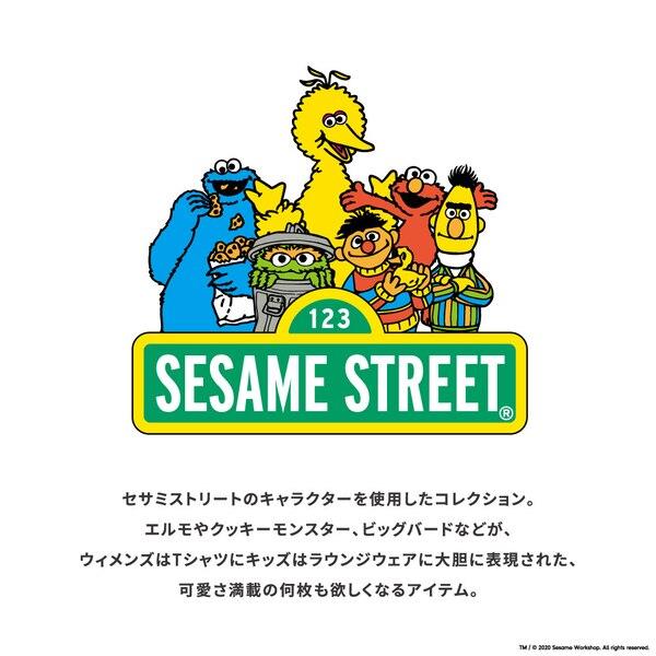 ワンピース(5分袖)SESAMESTREET 2+X
