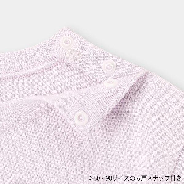 BABY(TODDLER)コットンクルーネックT(半袖)+E