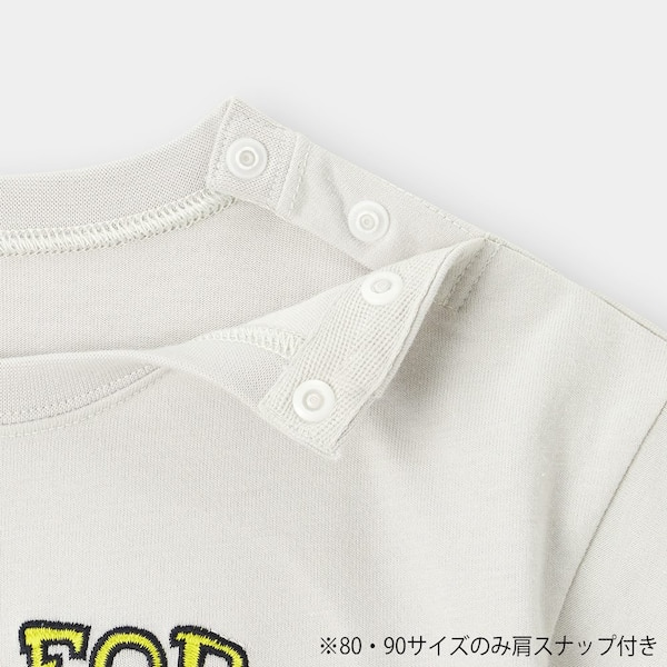 BABY(TODDLER)BOYSグラフィックビッグT(半袖)(カー)+E