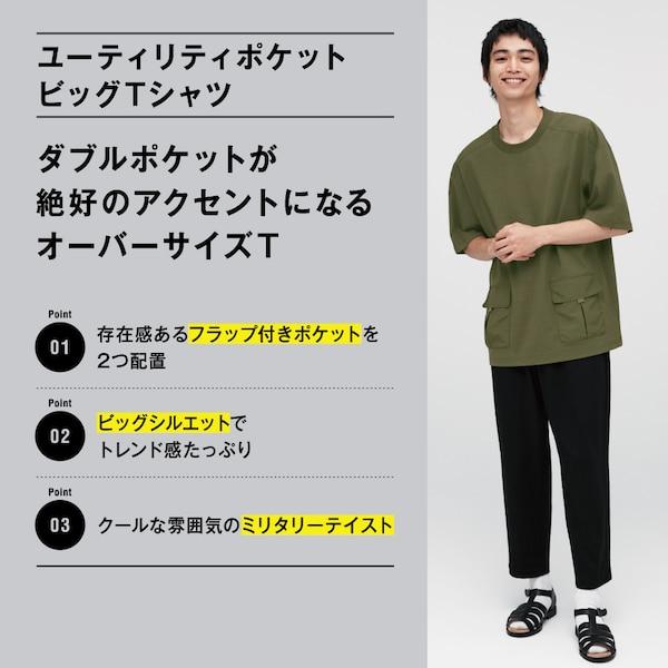 ユーティリティポケットビッグT(5分袖)2