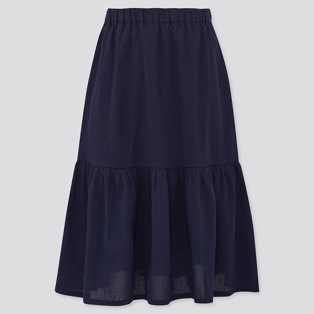 ティアード ロング スカート ユニクロ プチプラに見えない!《ユニクロ・GU》の「ロングスカート」はおしゃれさん注目なんです!