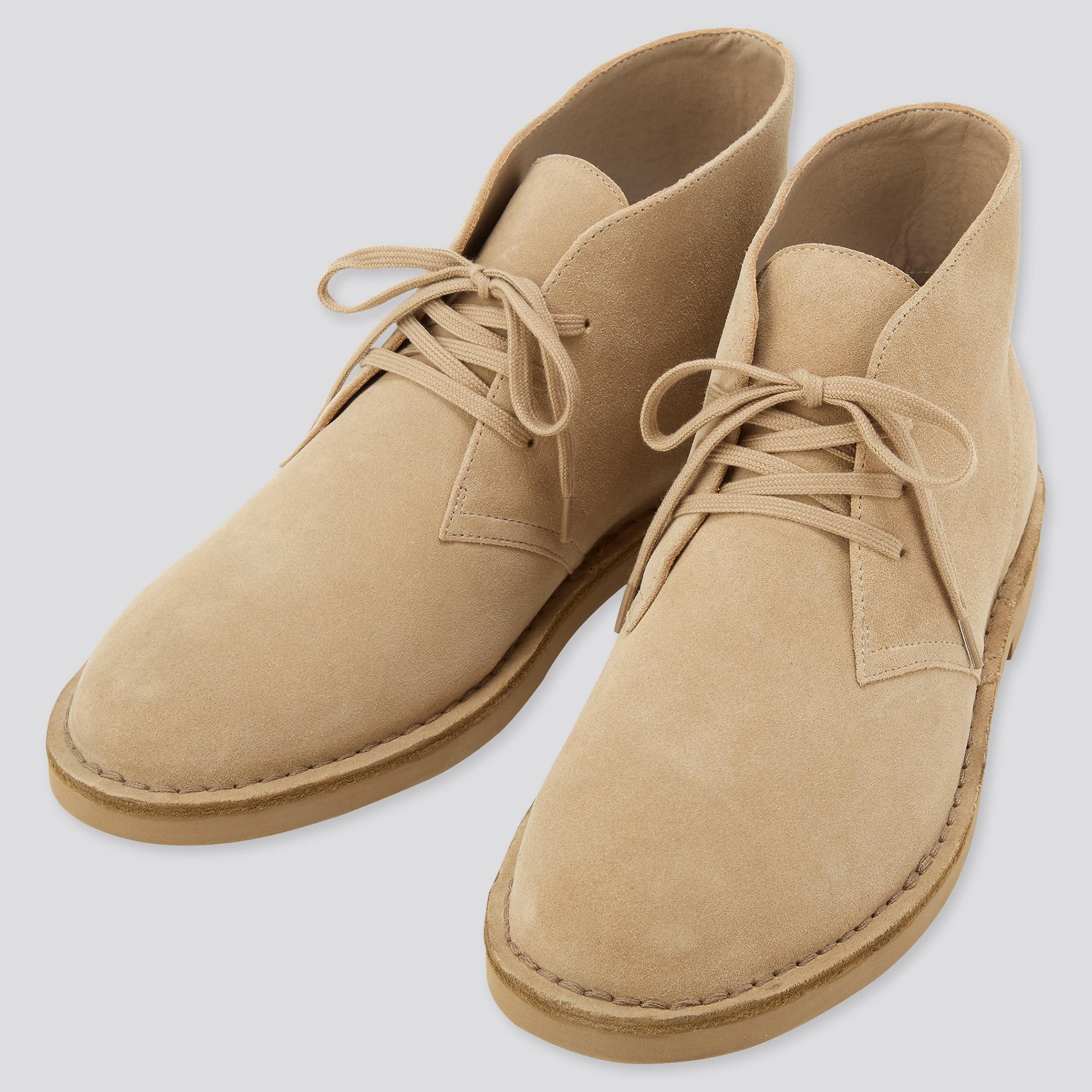 UNIQLO   MEN Suede Chukka Boots