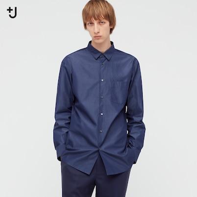 スーピマコットンレギュラーフィットシャツ(長袖)