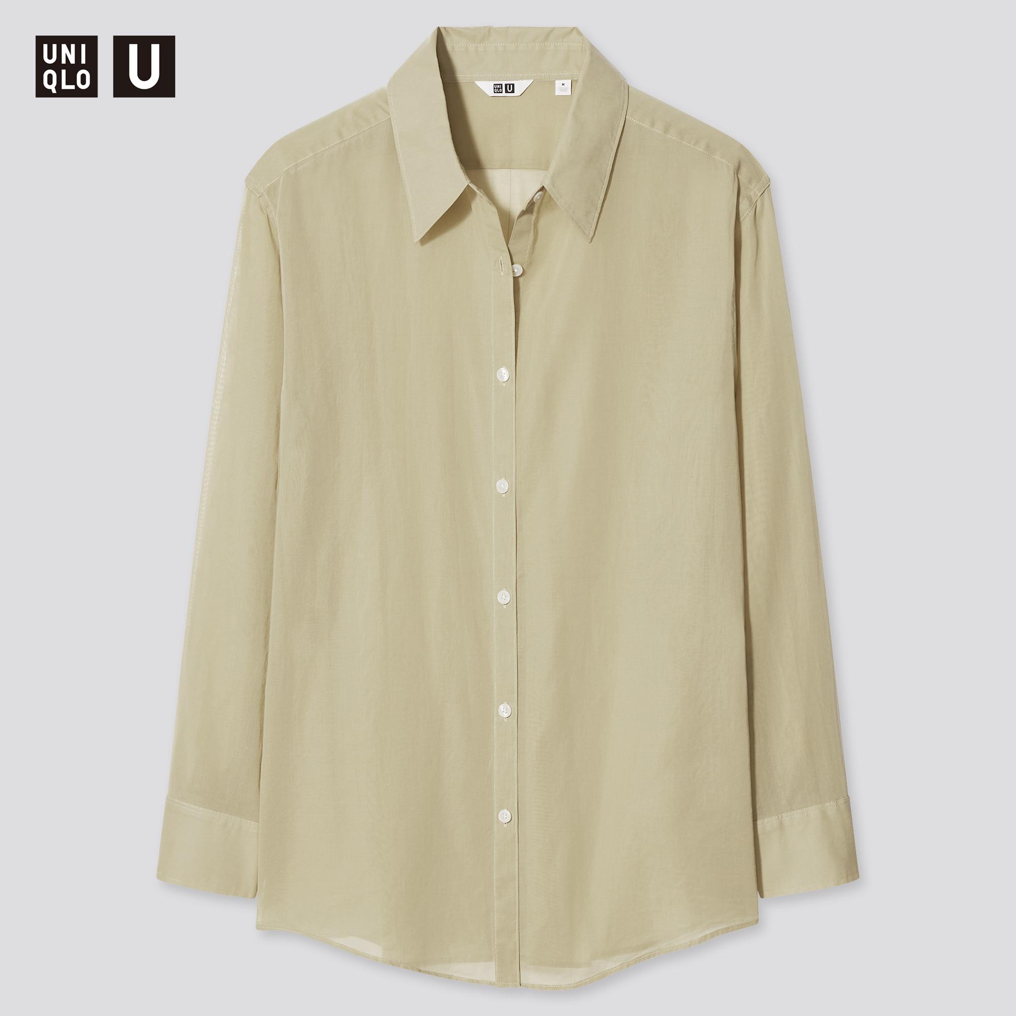 シアーシャツ(長袖)