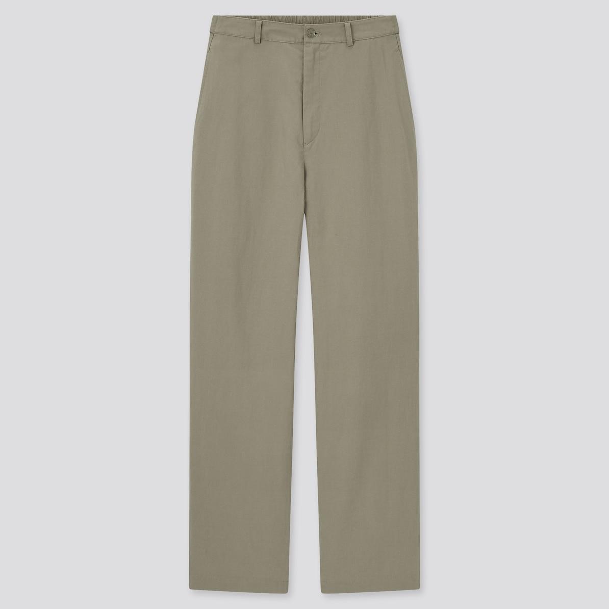 リラックス パンツ ユニクロ ストレート 【ユニクロ】ウエストゴムなのにスタイルアップできれい見えする5つのパンツ