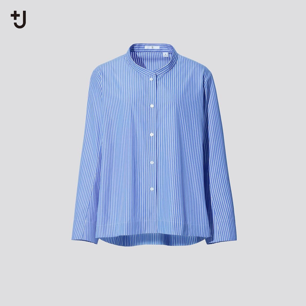 スーピマコットンストライプシャツ ジャケット(長袖)