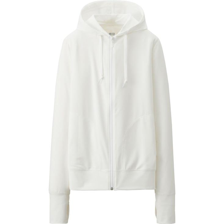 W'S Hooded Jacket, White, Large