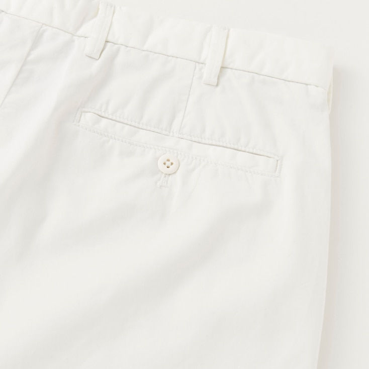 Men Chino Shorts, Black, Large