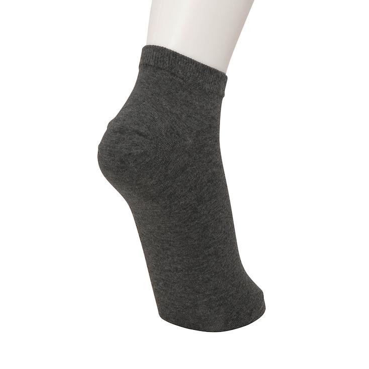 W'S Short Socks 3p, White, Large