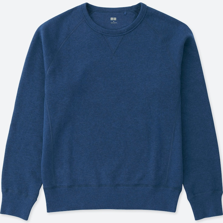 Men'S Sweatshirt, Blue, Large