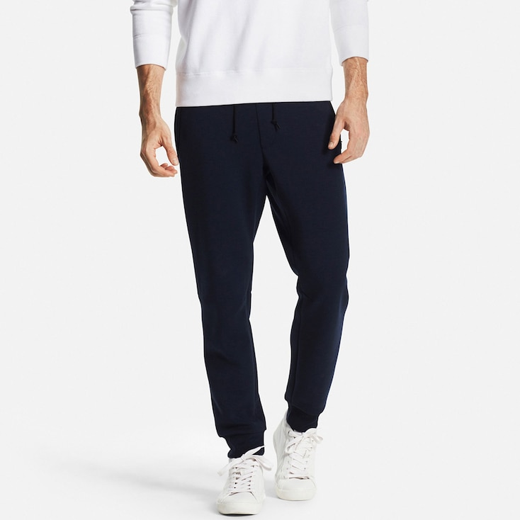Men'S Dry Stretch Sweatpants, Navy, Large