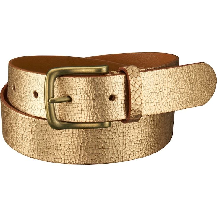 Women'S Metallic Belt, 81, Large