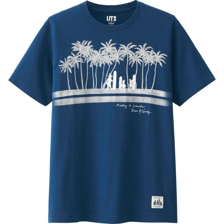 Men Disney Project Graphic T-Shirt, BLUE, large