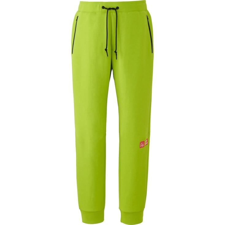 Men Kei Nishikori DRY Stretch Sweatpants 16FRA, GREEN, large