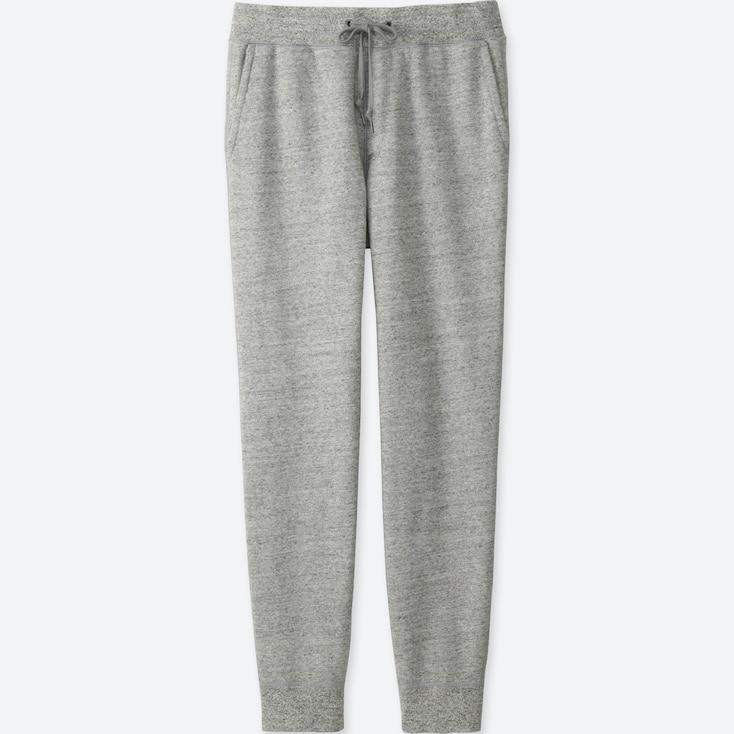 Men Sweatpants, Gray, Large