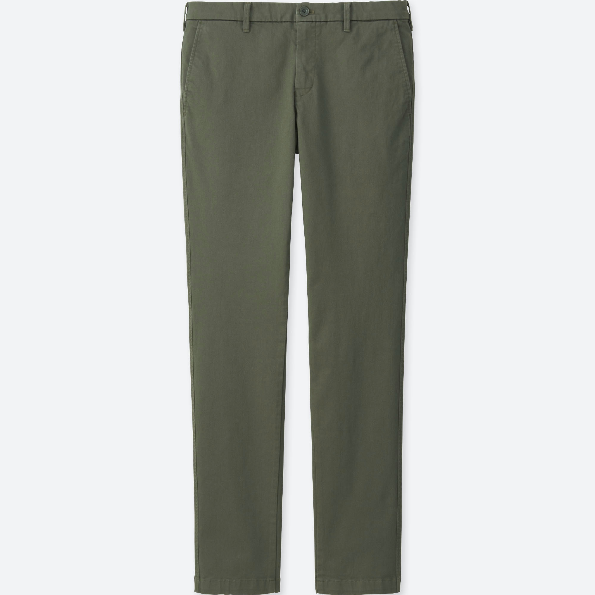 MEN ULTRA STRETCH SKINNY FIT CHINO FLAT FRONT PANTS