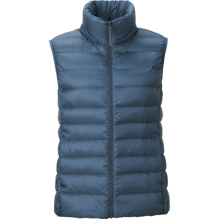 Women Ultra Light Down Vest, Black, Large
