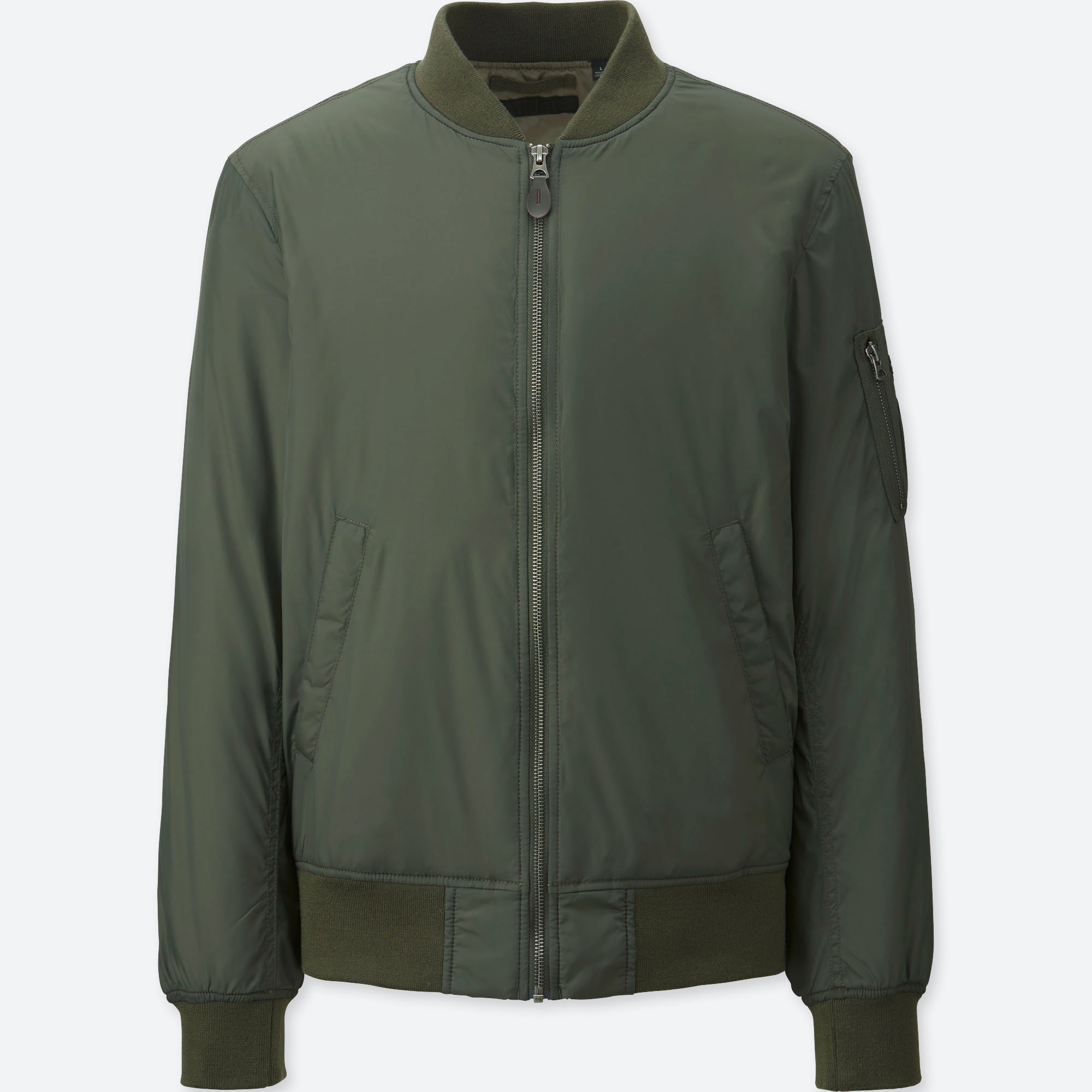 6edcc3ad26c2b MEN MA-1 BOMBER JACKET | UNIQLO US