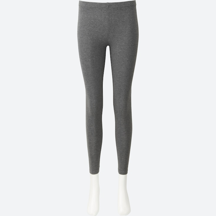 Women Leggings, Dark Gray, Large