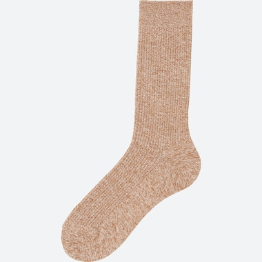 MEN COLOR SOCKS, LIGHT ORANGE, medium