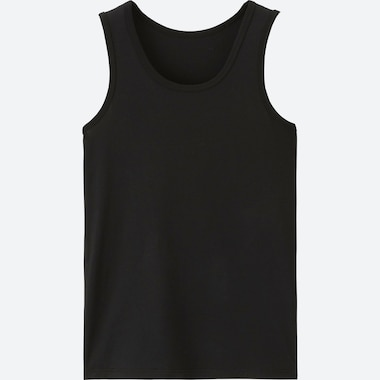 KIDS AIRism TANK TOP, BLACK, medium