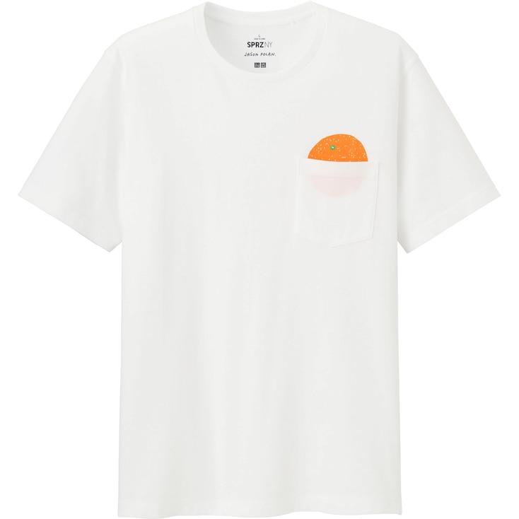 MEN SPRZ NY SHORT SLEEVE GRAPHIC T-SHIRT (JASON POLAN), WHITE, large