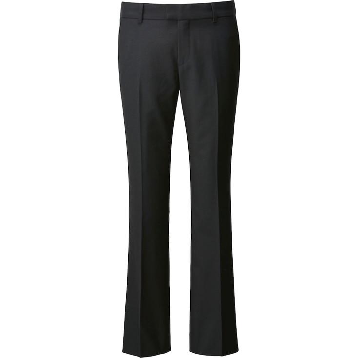 Women Carine Wool Blend Pants, Black, Large