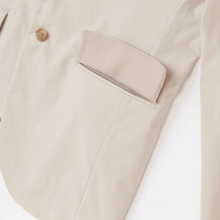 Men Dry Stretch Jacket, Black, Large
