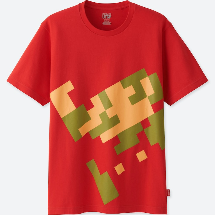 MEN UTGP (NINTENDO) SHORT-SLEEVE GRAPHIC T-SHIRT, RED, large