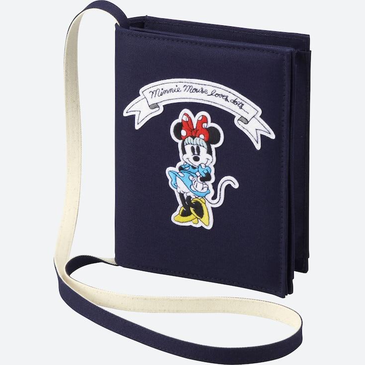 Women Disney (Minnie Mouse Loves Dots) Shoulder Bag, Red, Large