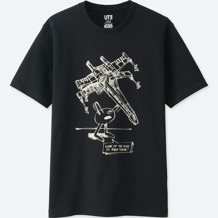 Men Star Wars | Artist Collection Graphic T-Shirt (James Jarvis), Black, Large