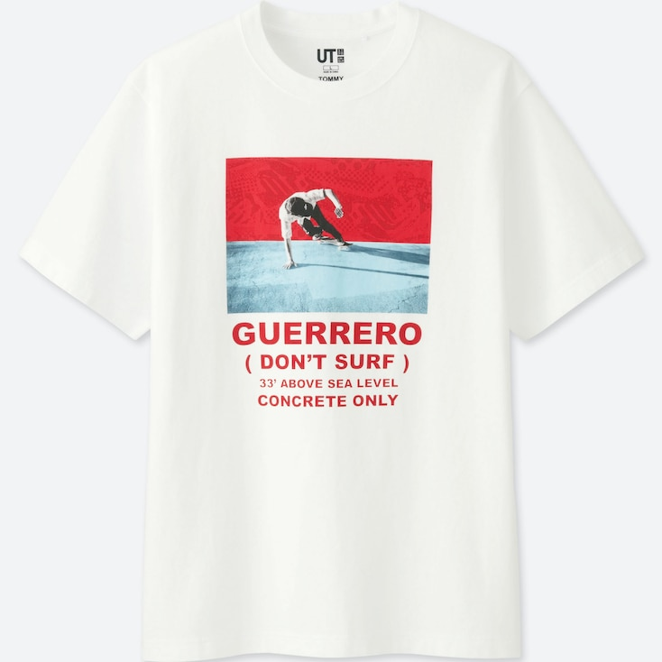 Tommy Guerrero Collection Graphic T-Shirt, White, Large
