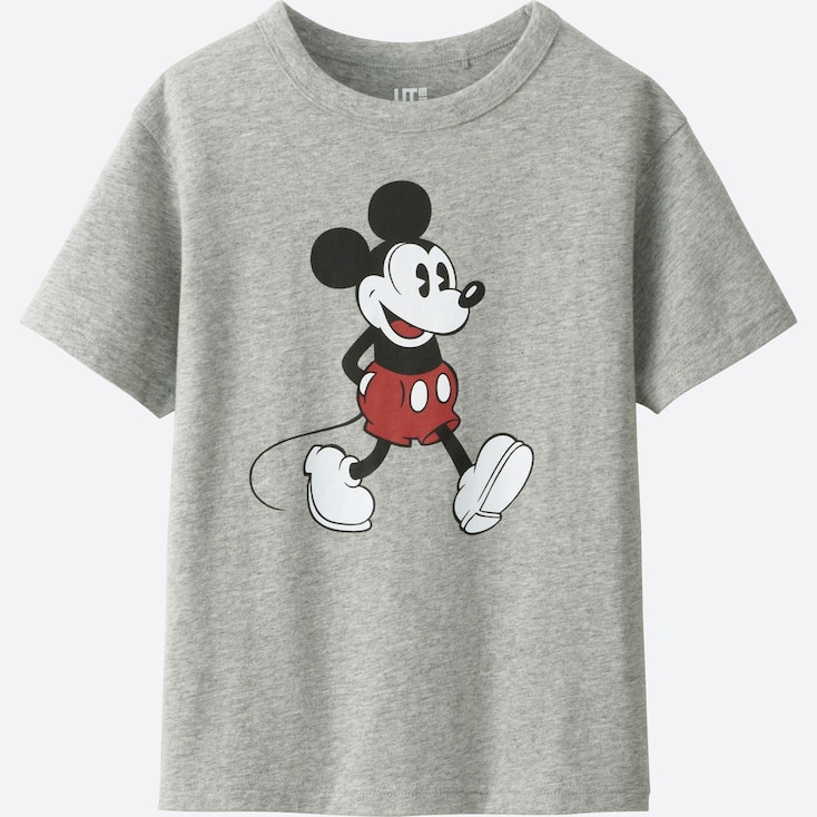 BOYS DISNEY COLLECTION SHORT SLEEVE GRAPHIC T-Shirt, GRAY, large