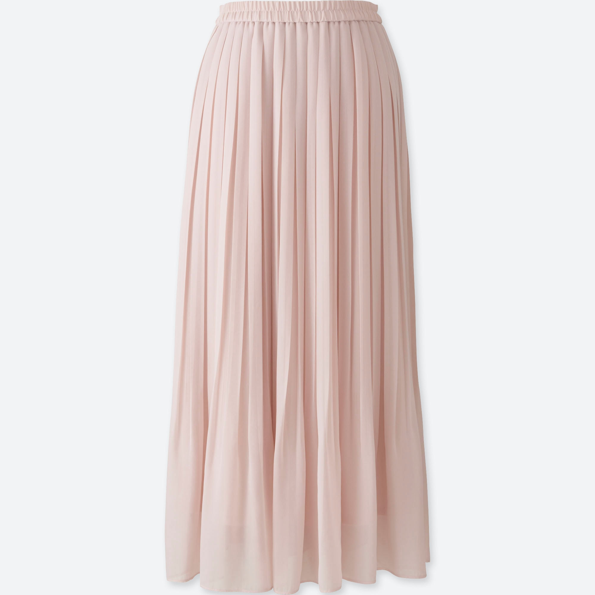 5862b930c2 WOMEN HIGH WAIST CHIFFON PLEATED SKIRT, PINK, large Opens a New Window.