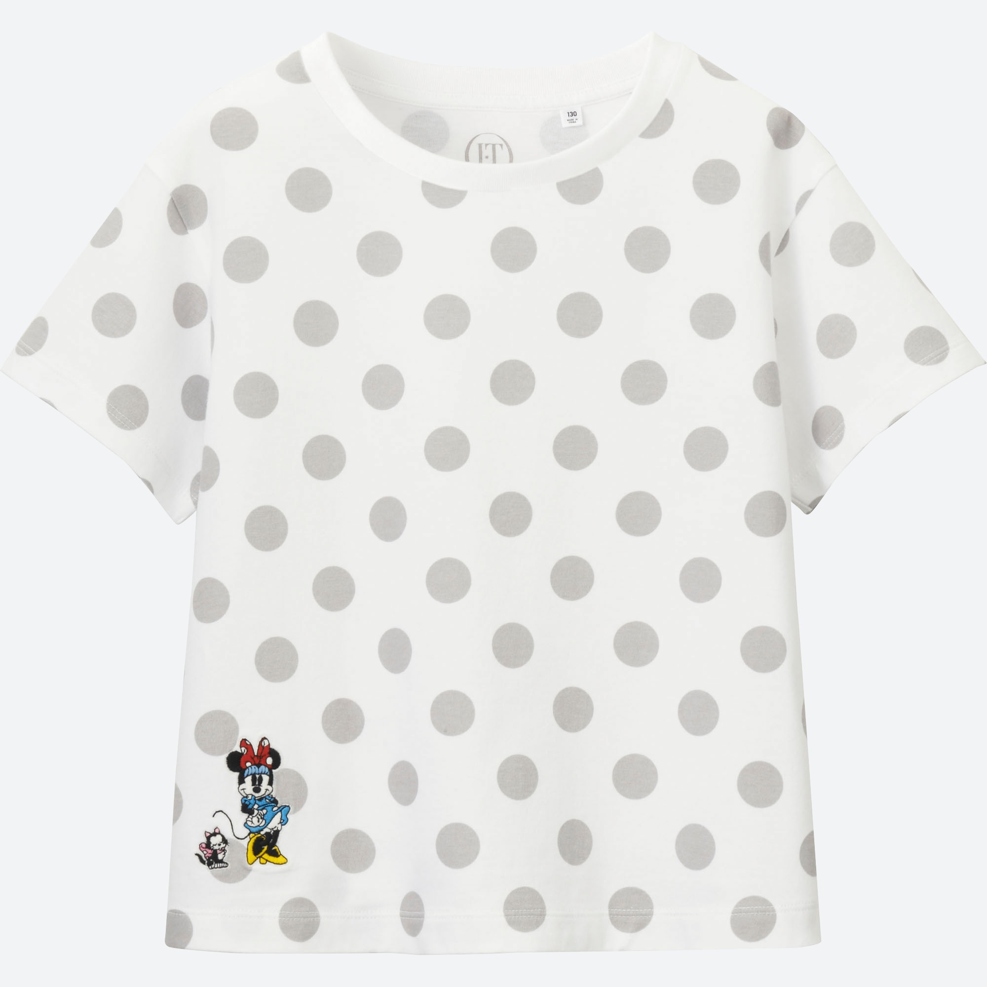 8906c36af99 GIRLS Disney (Minnie Mouse Loves Dots) GRAPHIC T-SHIRT