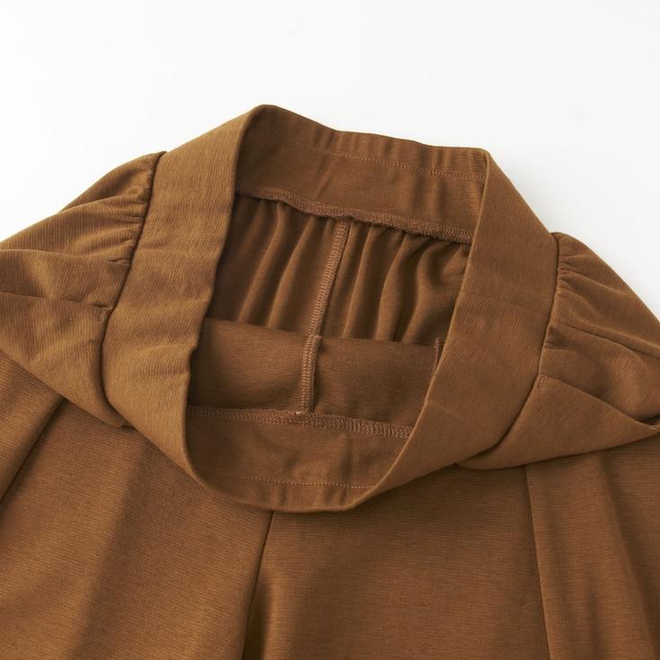 Women Wide Pants, Brown, Large